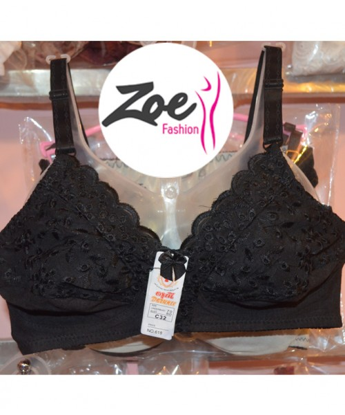 Zoey Comfortable Latest Style Imported Thai Chicken 100% Cotton Bra For Daily Usage