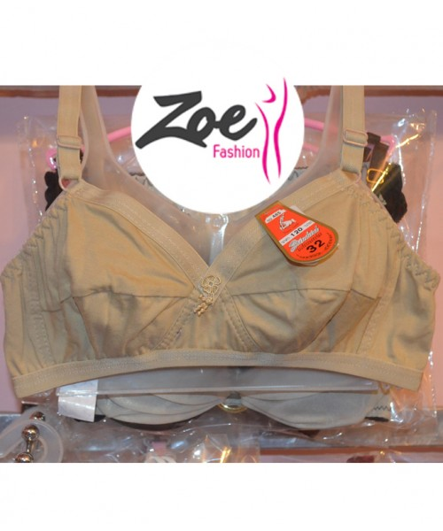 Zoey Latest Fashion Women Young Girls Best Quality Low Price 100% Cotton Casual Bra brassiere