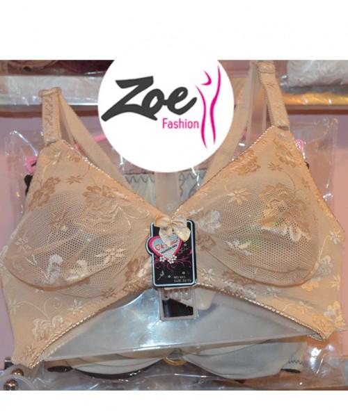 Zoey Fashion Discounted Low Price Net Bra