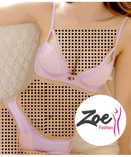 Zoey Latest Girls Bra Women's Push Up bra Brief Set