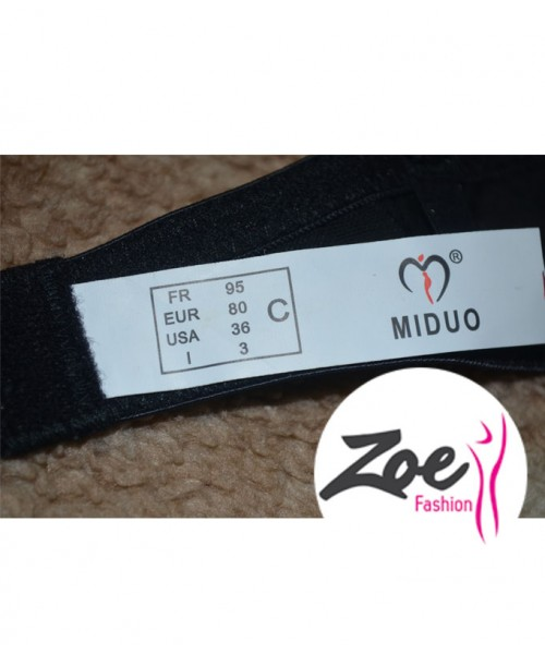 Zoey Luxury Queen Miduo Brand C Cup Bra Set