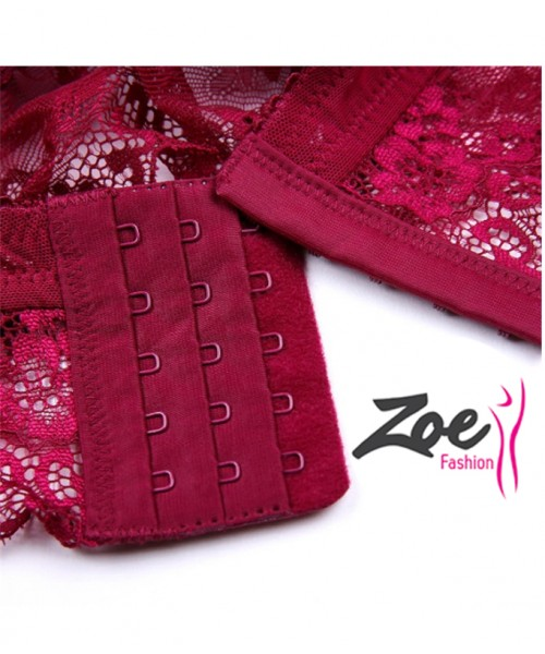 Zoey Bridal Lace bra briefs lingerie set for woman girls