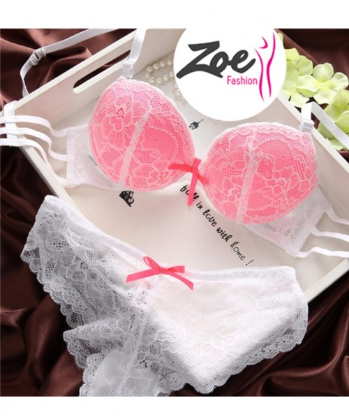 Zoey Womens Lace Lingerie Underwear Push-Up Padded Bra Underwire Outfits