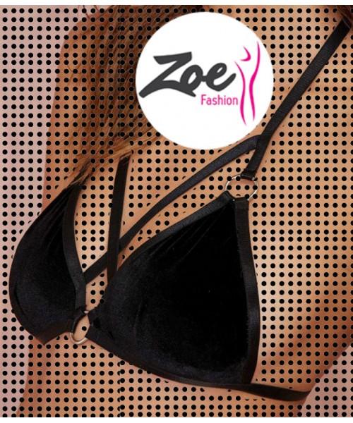 Zoey Women Bra Only Tops Vest Cut Out Bralette Beach Tank Top