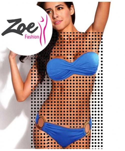 Zoey Luxury Brazilian Girl Push-Up Padded Bikini Beachwear Swimwear Slim Set