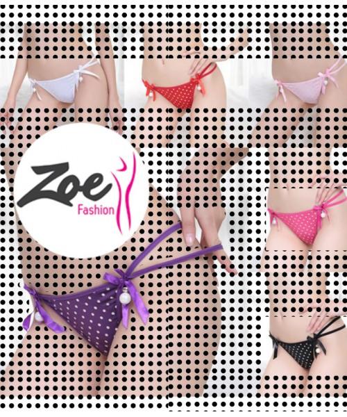 Zoey Cute Women Polka Dot Pattern Panties Women's Underwear Gauze Briefs