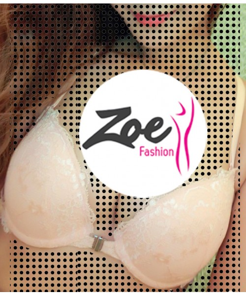 Zoey Cool fancy pretty smart young girls charming front open bra & brief sets hot sale