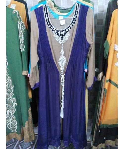 Gown Embroidered Suit