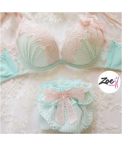 Zoey Fancy Stylish Lace Bra Set