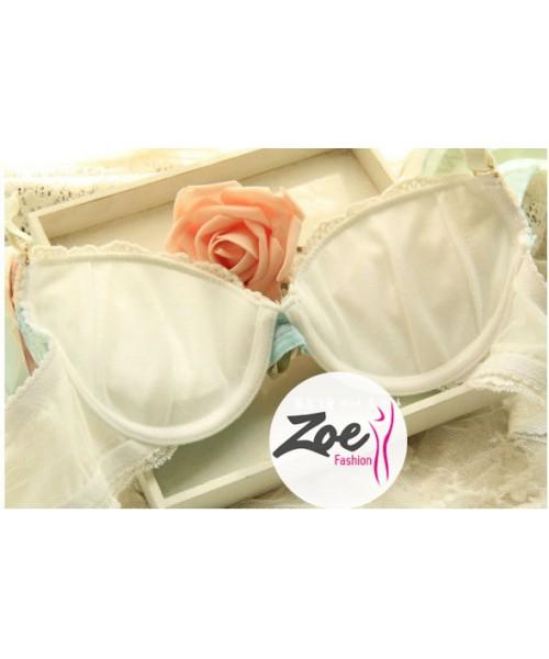 Zoey Floral Fancy Bra set